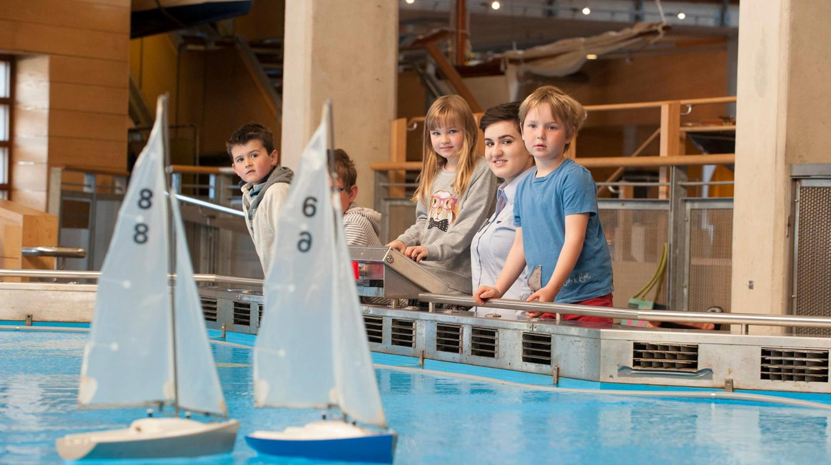 things to do on a rainy day in cornwall -  national maritime museum falmouth