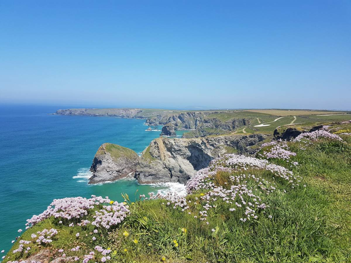 newquay walks bedruthan steps
