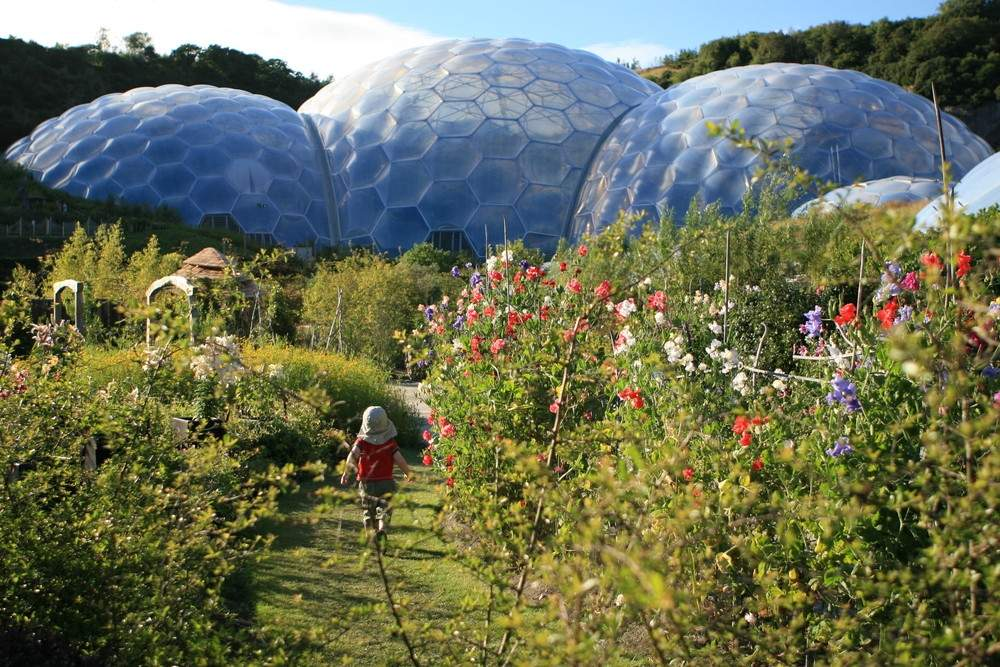 family attractions cornwall eden project