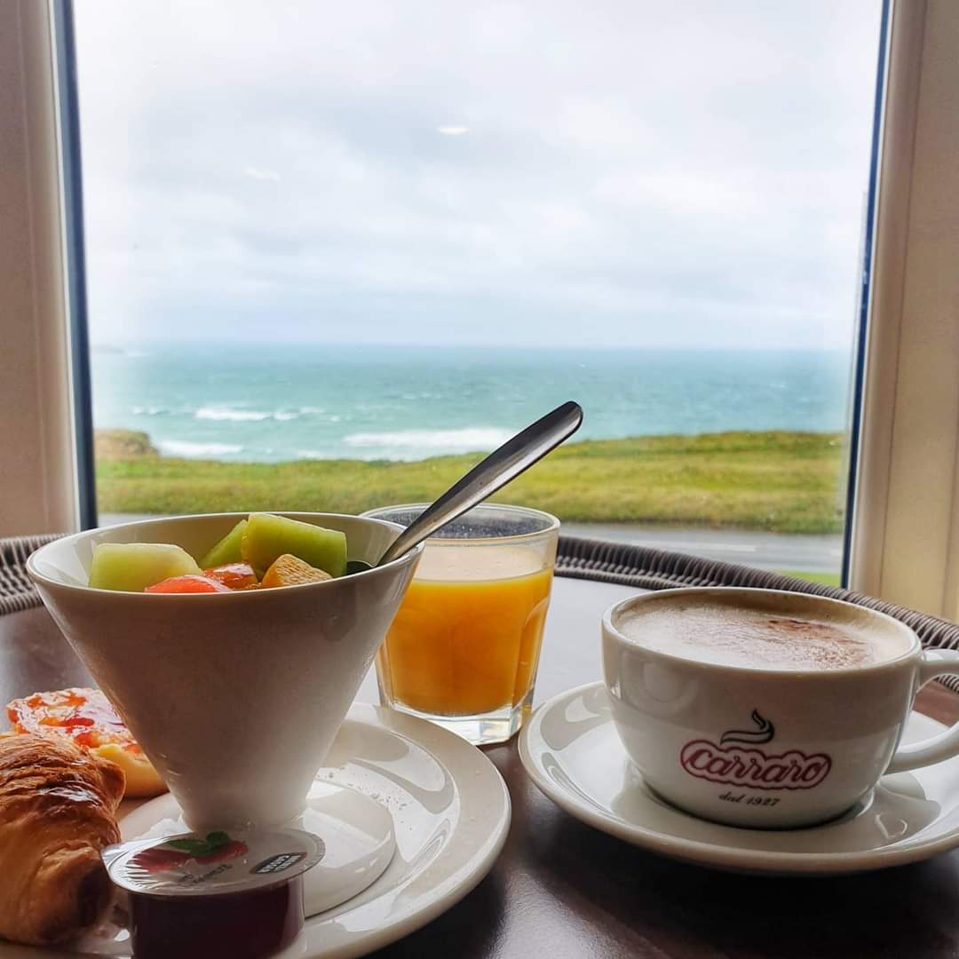 Breakfast in bed sands resort hotel newquay cornwall