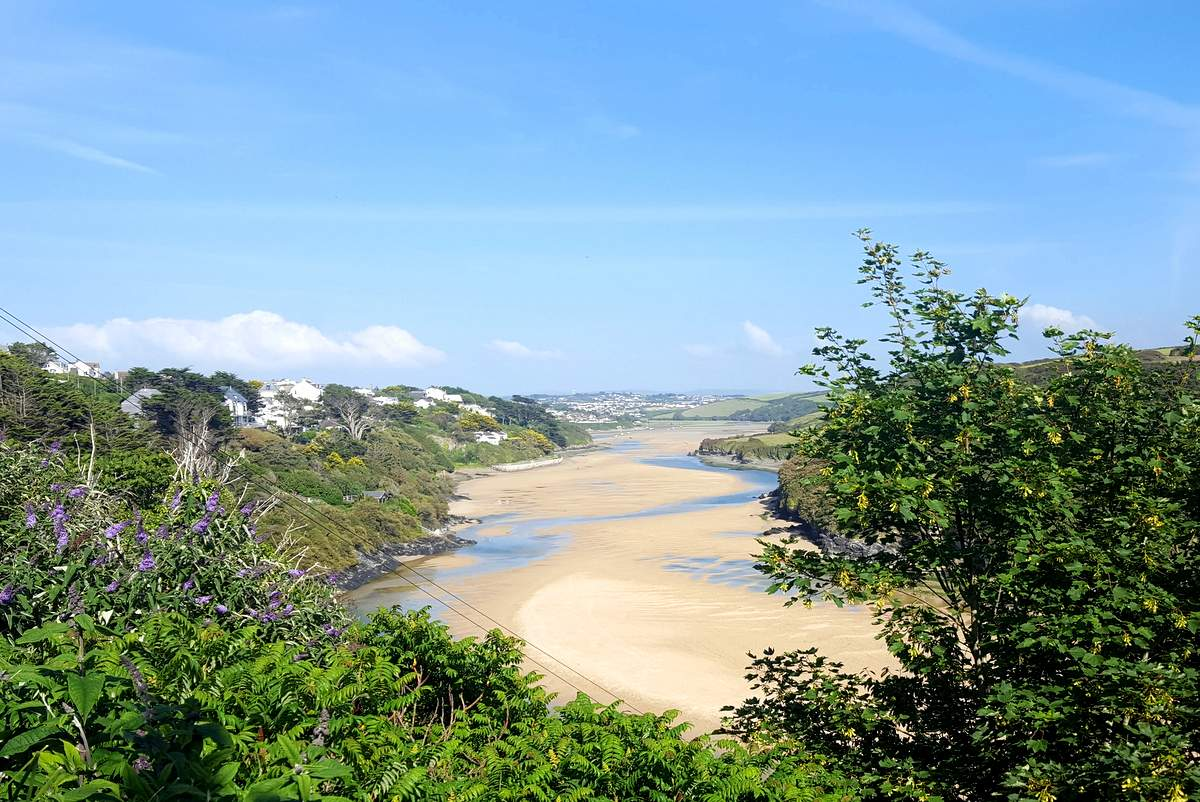 newquay walks gannel