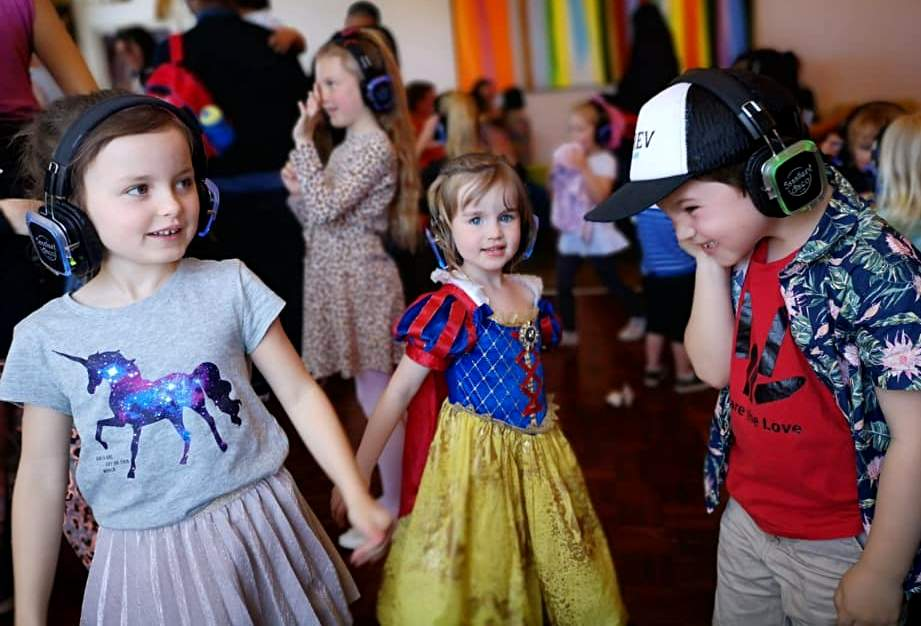 silent disco children newquay
