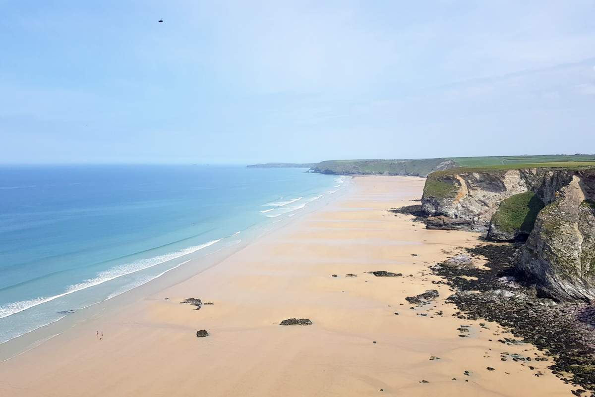 watergate bay walk newquay