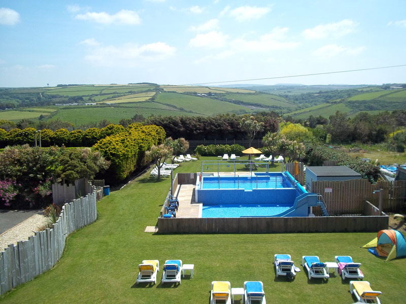 Outdoor Pool Sands Resort Hotel Newquay Cornwall